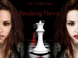 Breaking Dawn - Two Sides by xcraziiex
