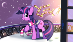 The Ninth Day of Christmas by Karzahnii