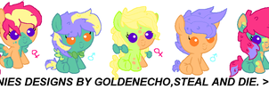 babies for RushforDa ~closed~ by Goldenecho