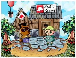 Animal Crossing: Ready to work! by serajaa