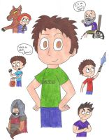 The Great Tobuscus by killALLthezombies