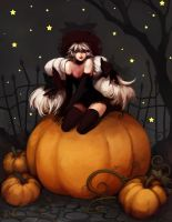 TtD: Pumpkin Witch by ippus