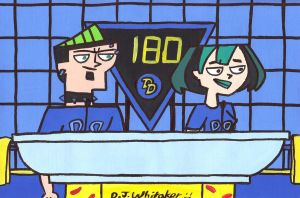 Duncan and Gwen on Double Dare by DJgames