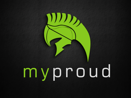 Logo - myProud by Falken-Design