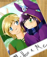 Ravio and Link Picture by Alamino
