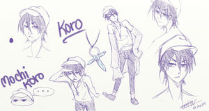 Koro sketches by UsagiNoAka