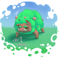 CDC Day 12: Timboar by Aluterrian