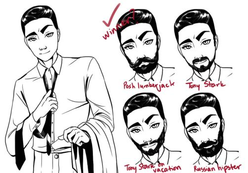 Beard Collage by iesnoth