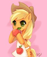Applejack more apple fwittle... nope just apple by Quiss