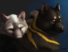 Malik and Amirah -Contest Entry- by TieWolf