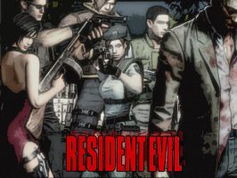 Resident evil troop by Darkawai