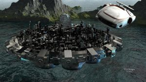 Big Floating City 1 by TLBKlaus