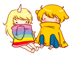 Lady and Jake by anime-lover05