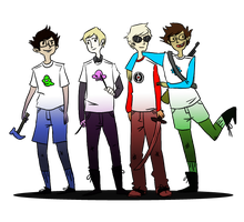 hommestuck by Captain-Of-The-Plate