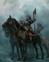 Northern warriors by Terribilus