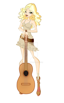 May's Illustrations - T. Swift by Qba016