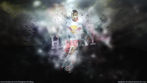 Thierry Henry -  New York Red Bulls by Designer-Dhulfiqar