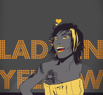 'Lady in Yellow' Vector by Des3rt