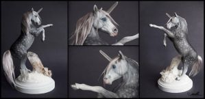 :.OOAK Fantasy Unicorn.: by XPantherArtX