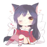 ahri by tunako