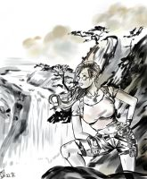 I Need To Understand - China Ink Lara by Forty-Fathoms
