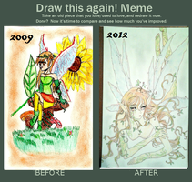 Before and After! -Fairy by SaraMangaka