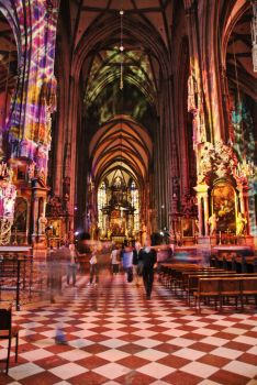 St. Stephen's Cathedral, Vienna by therikacska