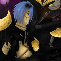 Halloween Zexion by uncle-sollux