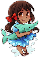 Chibi Series - Seychelles by say0ran