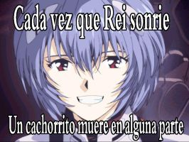 Rei  sonrie by Mefistores777