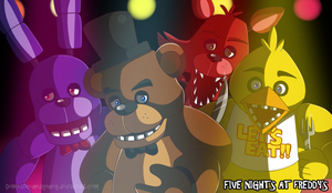 Five Nights at Freddy's by Domestic-hedgehog