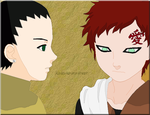 You're not alone [Shikadai, Gaara] by Keisuke-my-lover