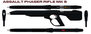 Assault Phaser rifle mk 9 by bagera3005