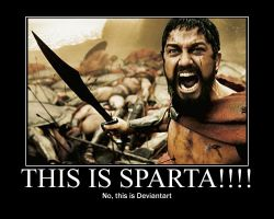 This is Sparta Motivator by countercharm