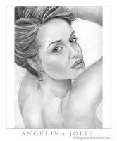 Angelina Jolie by helloyannie