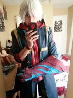 Devil May Cry4 -Nero - Devil Bringer Hell Yeah! by snow0storm