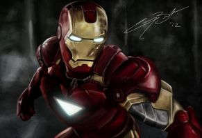Ironman by GarryBrookes