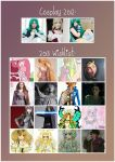 Cosplay Year in Review + 2013 Plans. by cupcake-rufflebutt