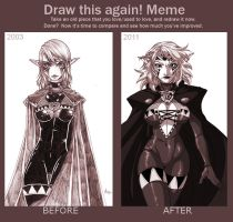 Before and after meme by DewNoir