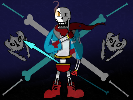 Genocide Papyrus by DominatorLater