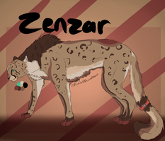 Zenzar Reference sheet by Allixi