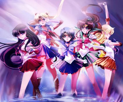 Sailor Senshi by Athena-chan