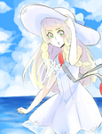 WIP [colored sketch]: Lillie by jecca-zn