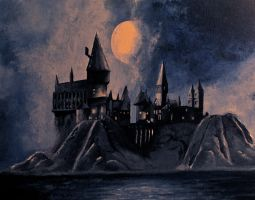 Hogwarts Castle by Maroin