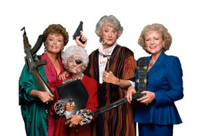 The Golden Girls: Kickin' Ass by TheSoulless