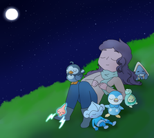 Sinnoh Night by sugaryDragon413