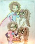 Happy Birthday Big sis!!! :D by CheekyDrawingGirl