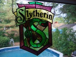 Slytherin by joemakesglass