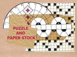 Puzzle and Paper stock by tanja92