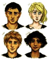 Divergent characters by pebbled